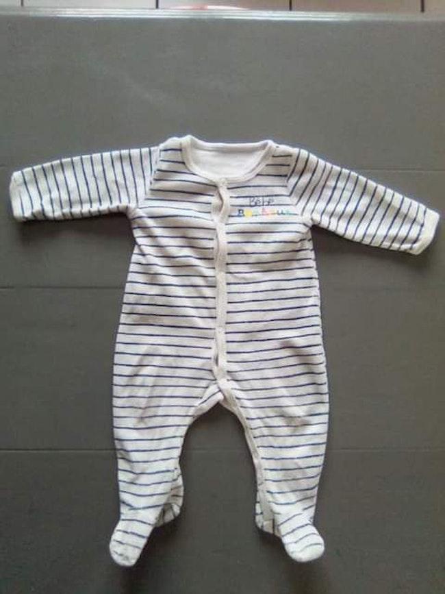 Pyjama mixte 3 mois 62 cm