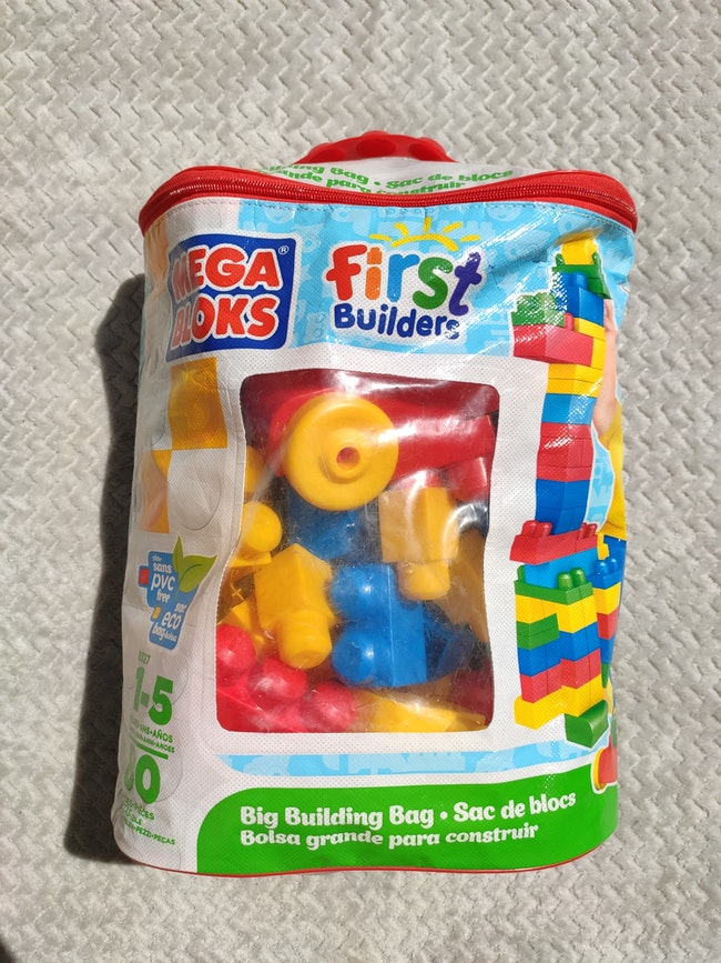 Blocs construction premier âge