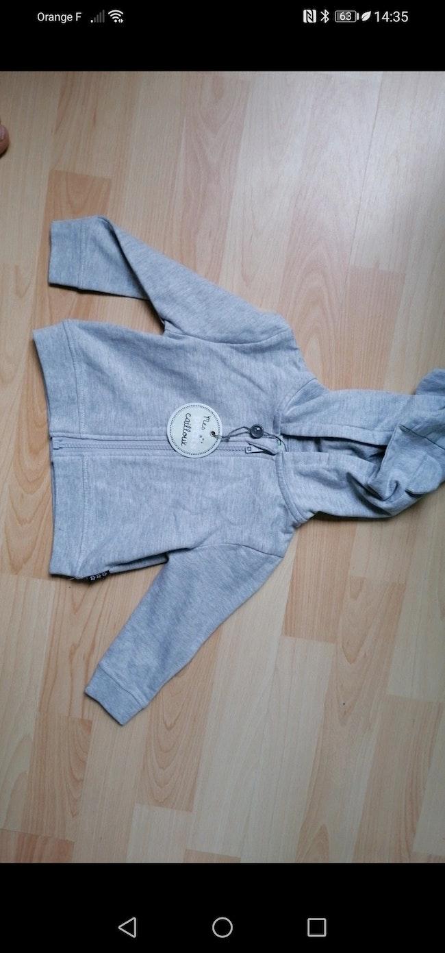 Gilet zipper 9 mois
