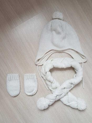 Ensemble bonnet écharpe gants kiabi