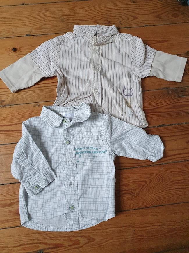 2 chemises