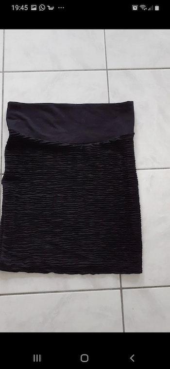 Jupe noire de grossesse taille 34/36