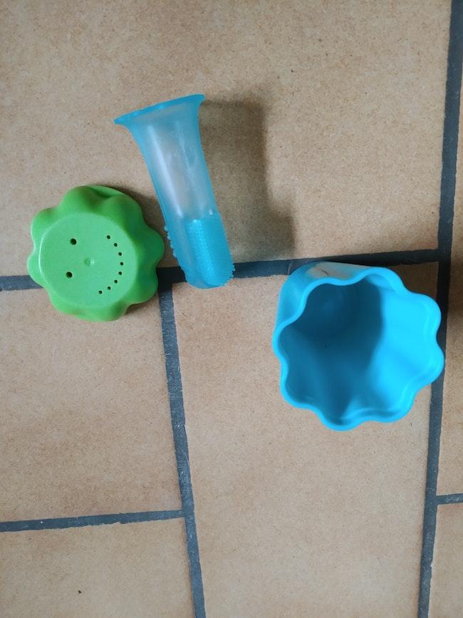 Brosse à dents bébé tupperware