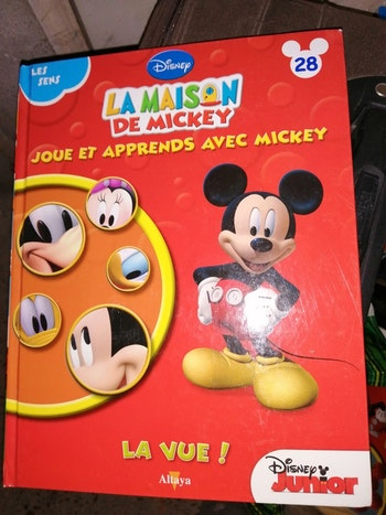 """La maison de mickey """"Japprend les sens"""""""