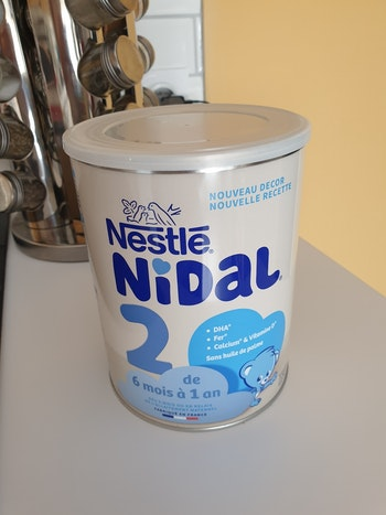 Lait en poudre Nidal neuf