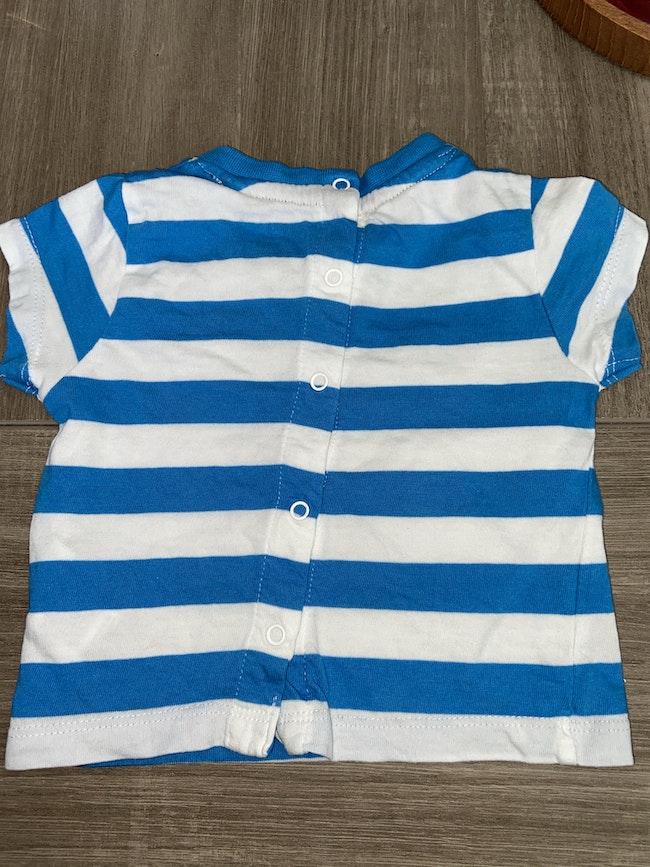 T shirt rayé 3 mois