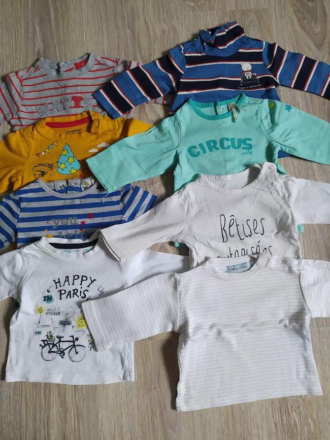 Lot t-shirt 3 mois