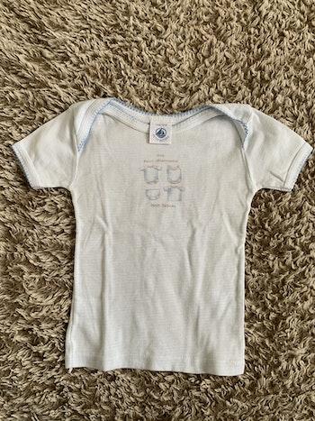 T-shirt sous vêtement - Petit Bateau - 12 mois