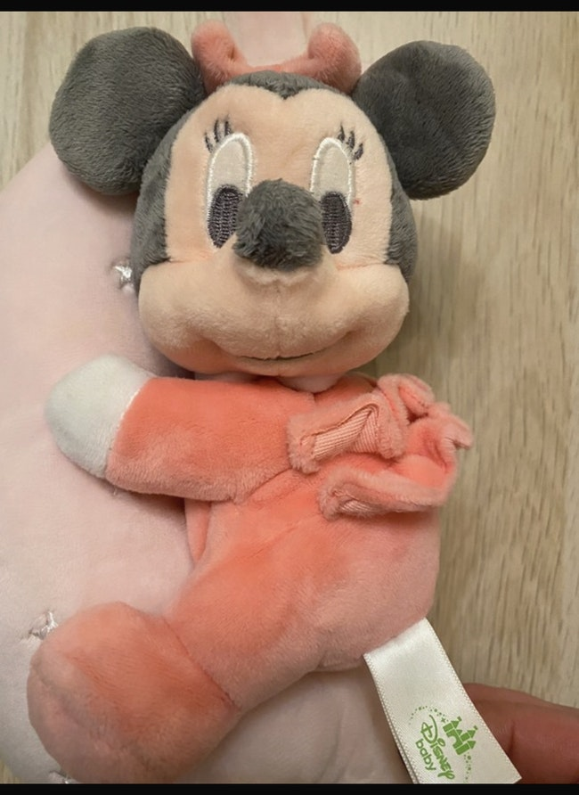 Peluche Musicale Doudou Minnie Lune Etoiles Disney Baby