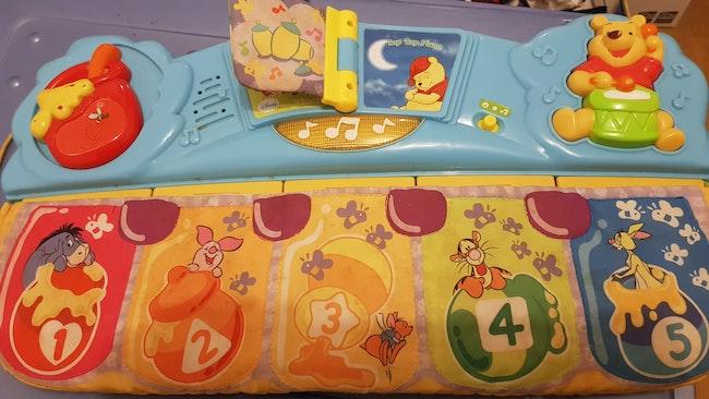 Piano musical Winnie l'ourson
