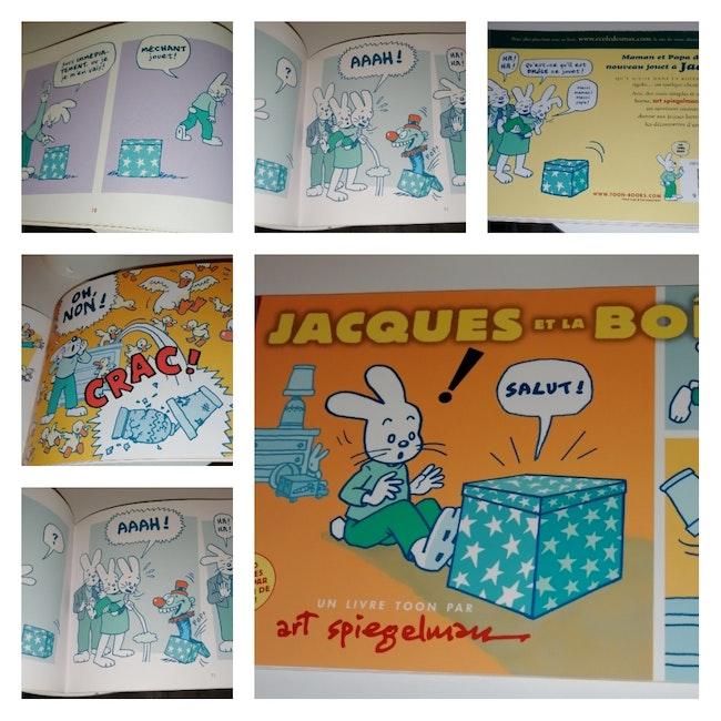 Livre Jacques et la boîte Neuf L école des loisirs