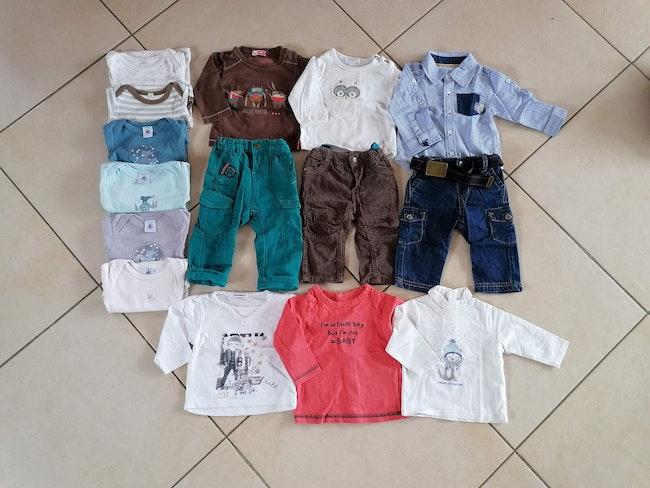 Vêtements 6 mois garçon hiver