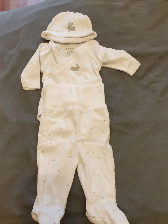 Ensemble body pantalon naissance
