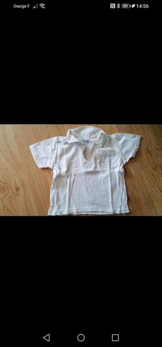 Lot 4 tee shirt 12 mois