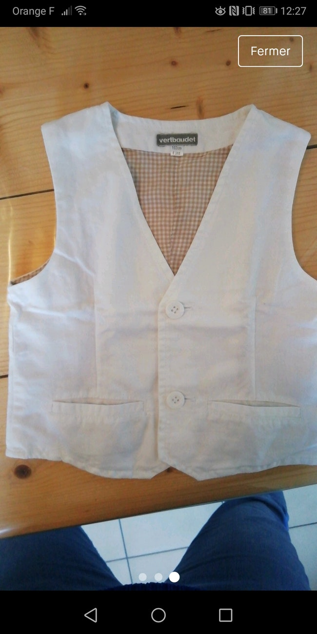 Gilet+chemise