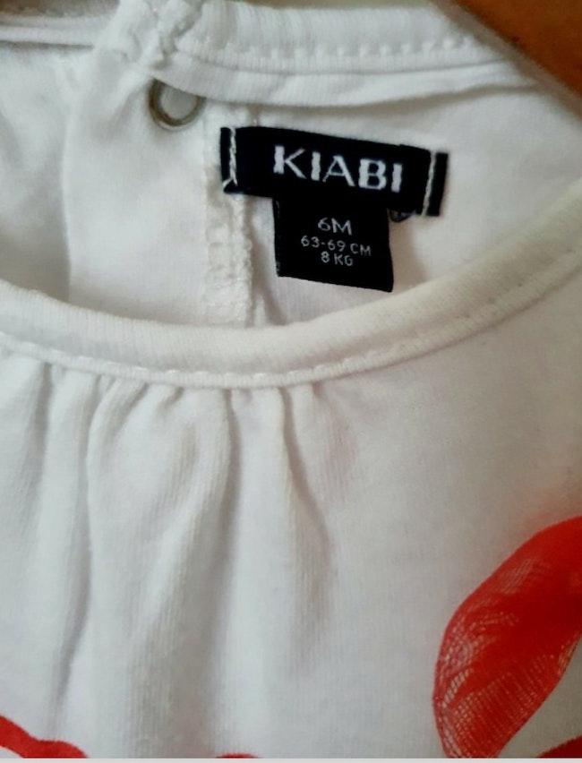 T-shirt 6 mois Kiabi