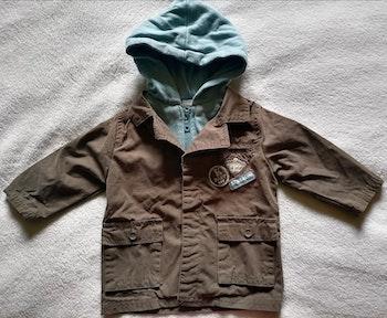 Manteau à capuche garçon 6 mois