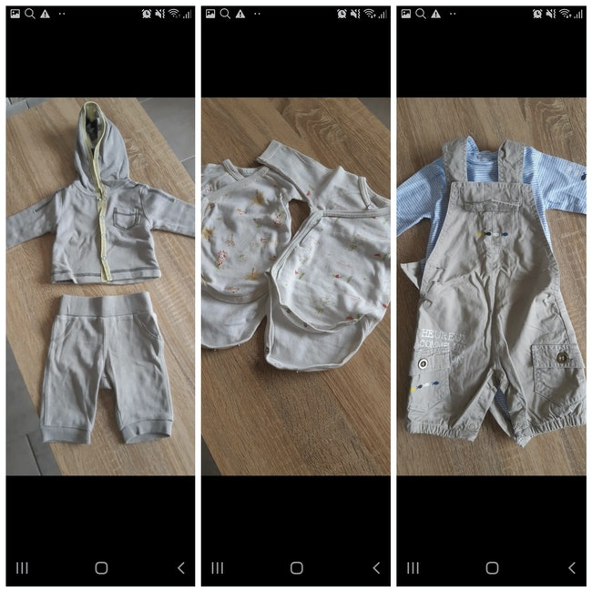 Vêtements garçon naissance