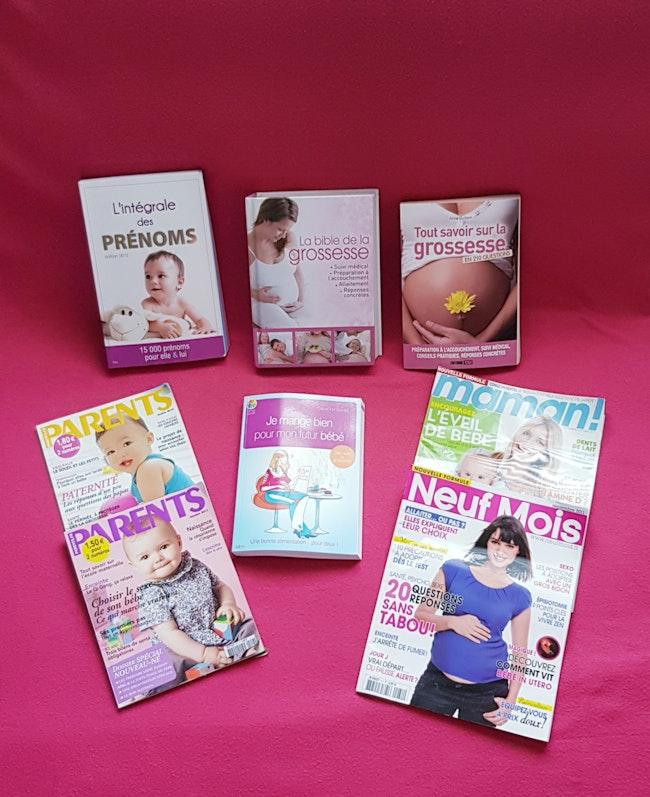 🤰Lot livres de grossesse 🤰