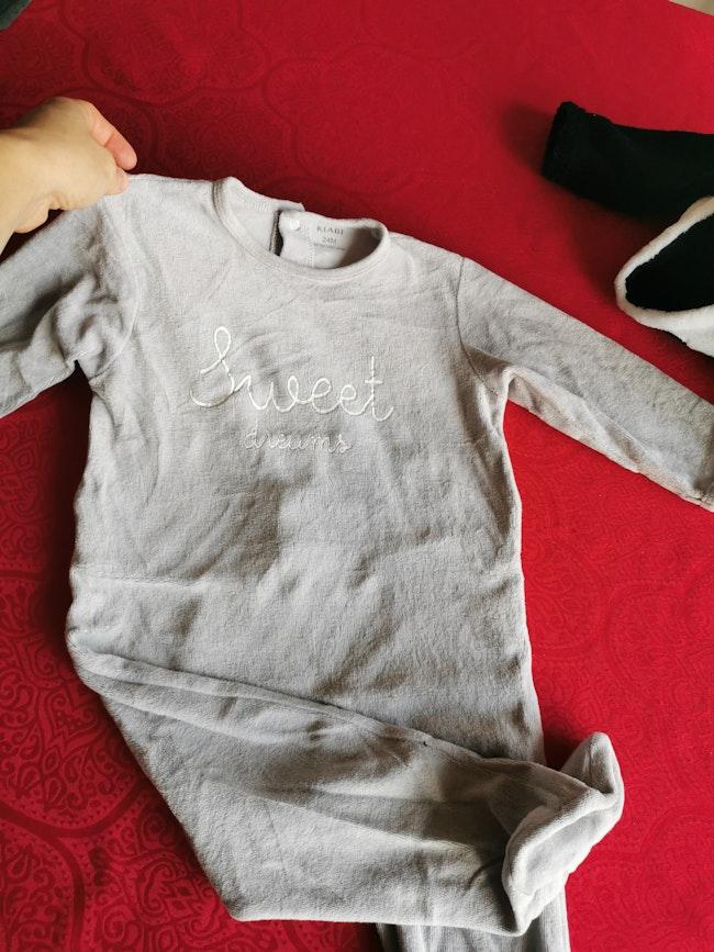 Lot pyjamas chauds 24mois
