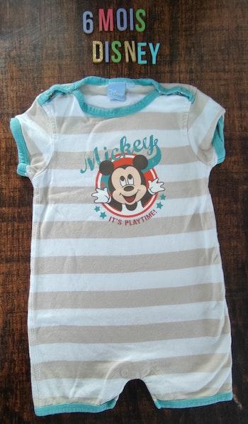 Combinaison Mickey 6 mois