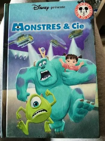 """Livre """"Monstres & Cie"""""""