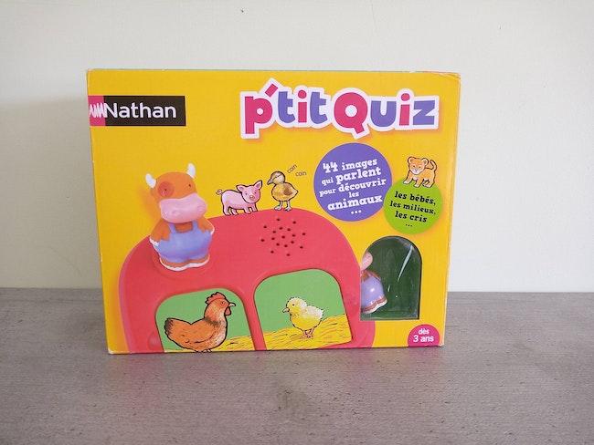 Jeu interactif NEUF Nathan P'tit Quiz