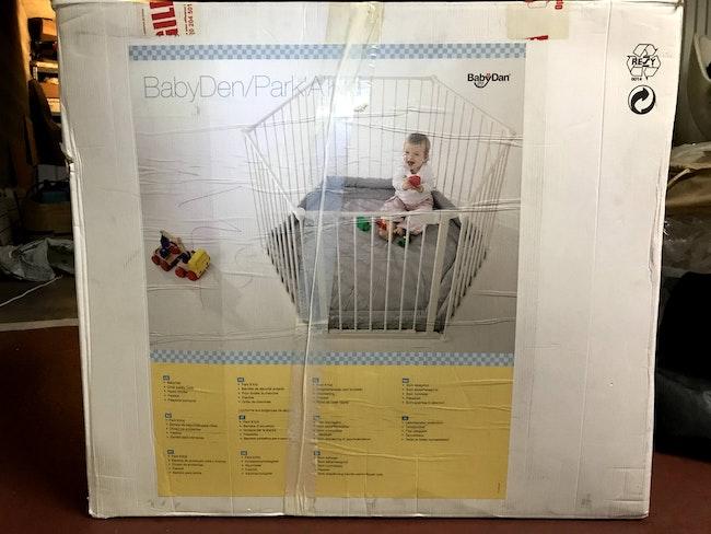 """Parc pour bébé """"Park'a'kid"""" BabyDan / barrière de sécurité"""