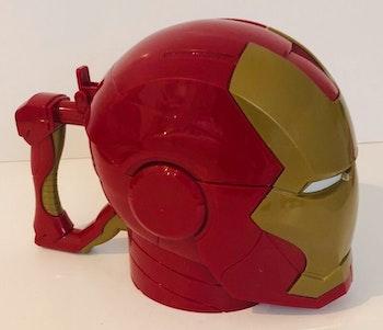 Disney Marvel Avengers Mug Iron Man Travel Tasse pop corn cup Disneyland lot SOP77
