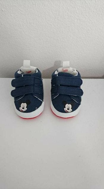 Basket bébé bleu Mickey Disney 0/3 mois