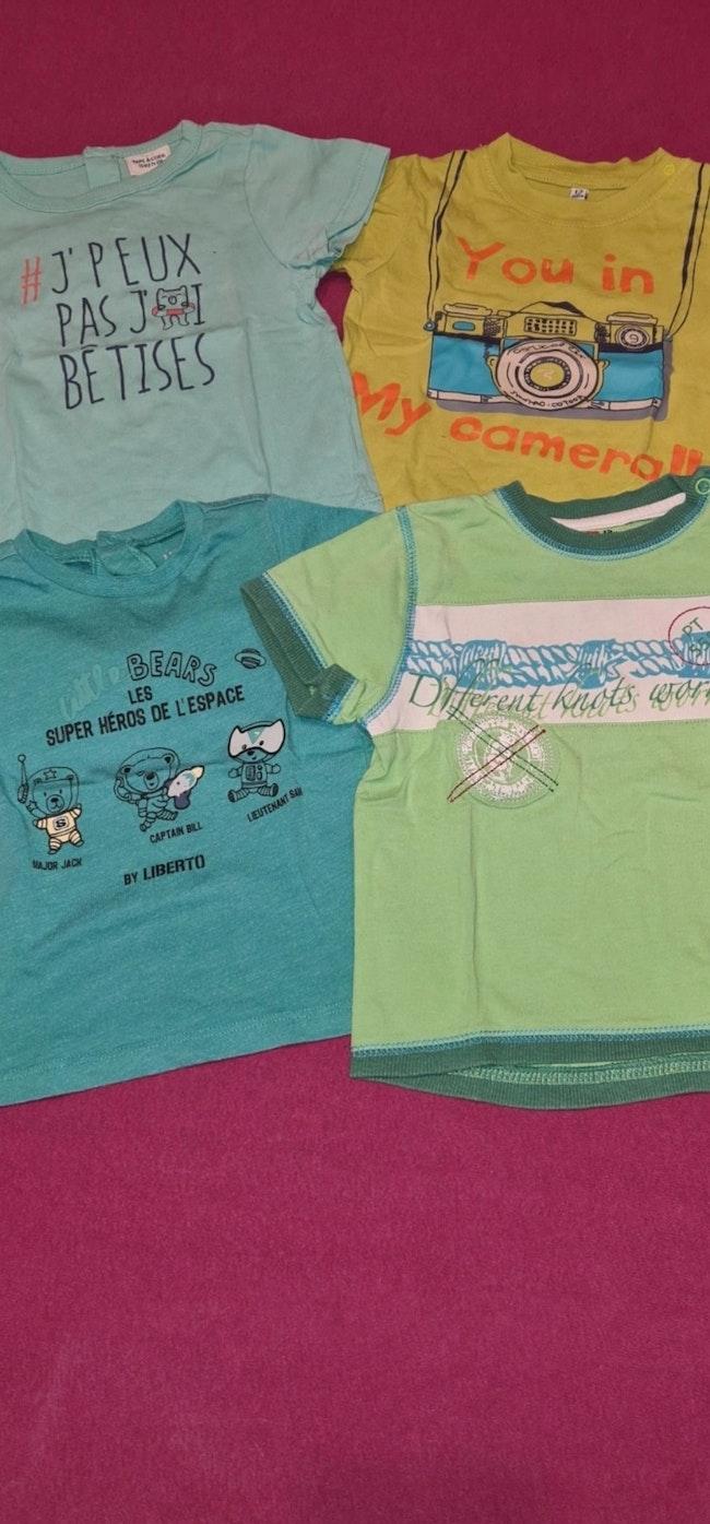 Lot de 4 t-shirts