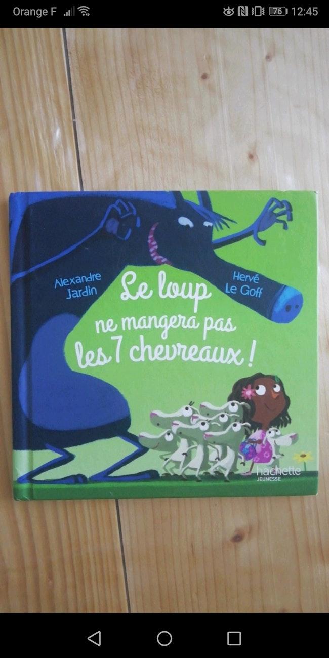 """Livre """"le loup ne mangera pas les 7 chevreaux !"""""""