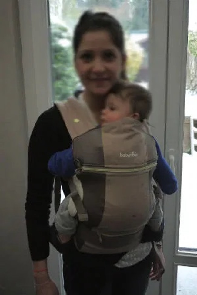 Porte bébé physiologique babymoov quasi neuf Evolutif