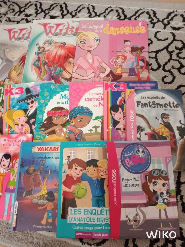 Lots livres filles très bonne état