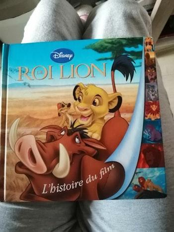 """Livre """"Le roi lion, l'histoire du film"""""""