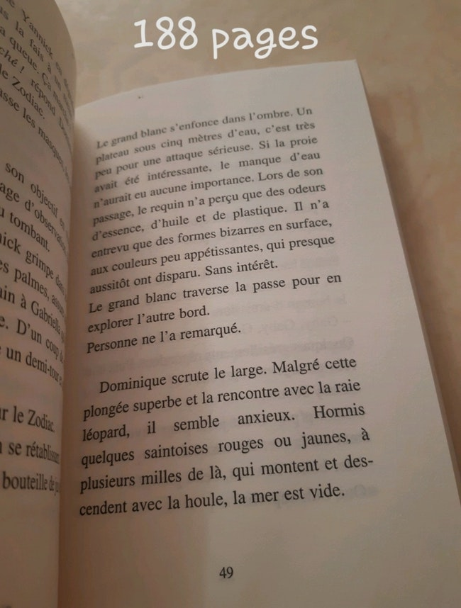 "Livre ""Plongée fatale"""
