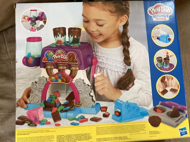 Jeu la chocolaterie de play doh
