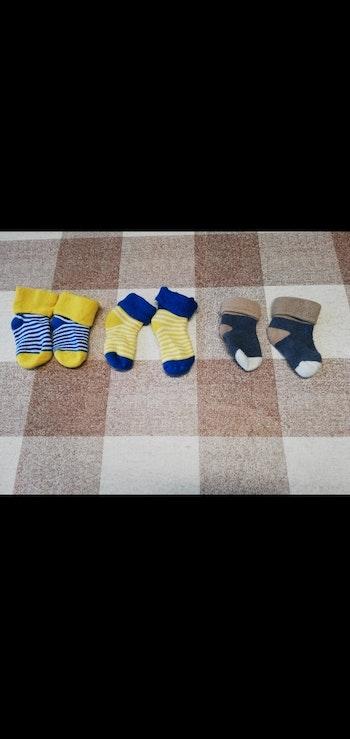 Lot 3 paires de chaussettes épaisse 0/3 mois