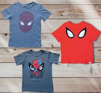 Lot de 3 tshirts Spiderman 🕷🕸
