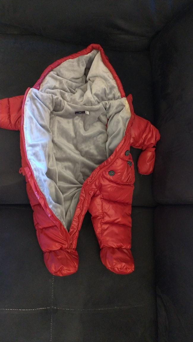 Combi pilote rouge neuve