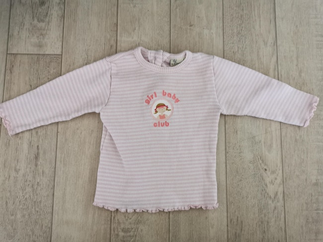 T shirt manches longues in extenso 9 mois