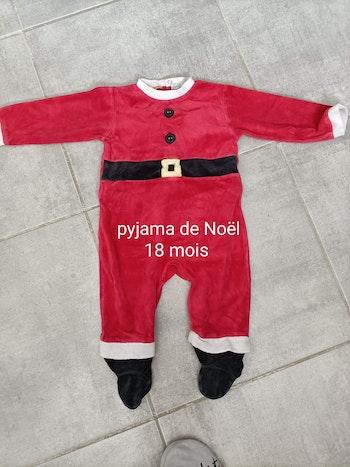 Pyjama de Noël 18 mois