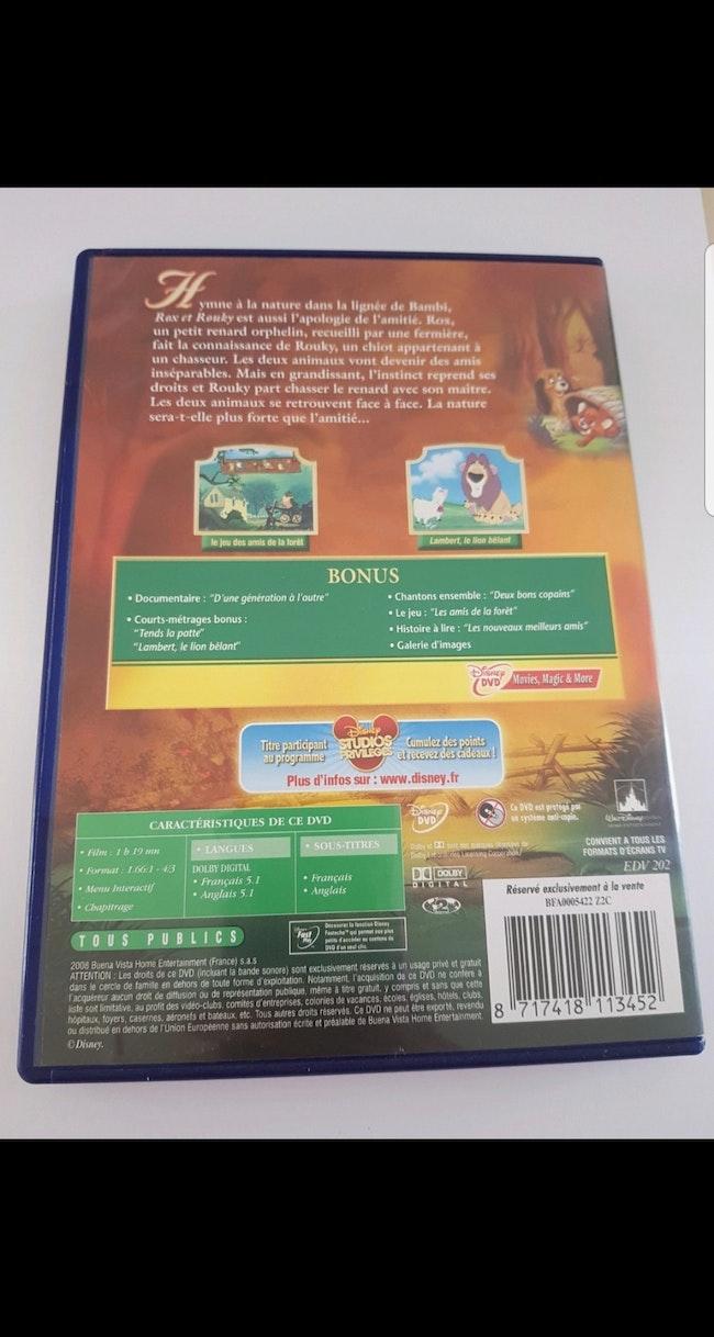 DVD : Rox et Rouky