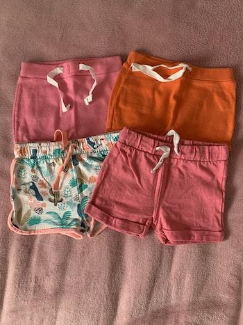 4 shorts