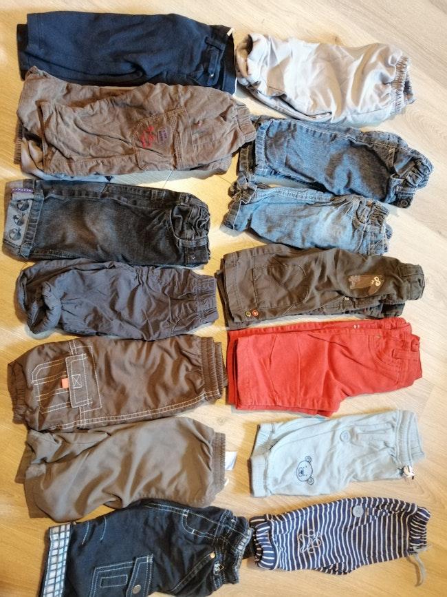 Lot de pantalons