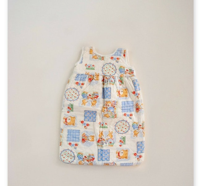 Turbulette oursons & lapins / 3-6 mois
