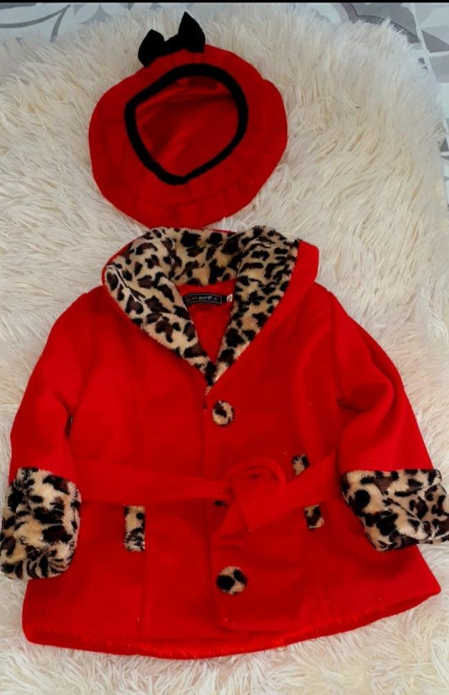Manteau fourrés léopard
