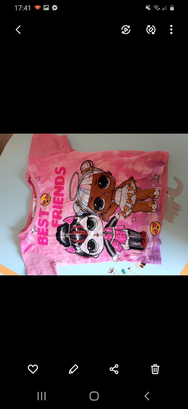 Tshirt fille 3ans