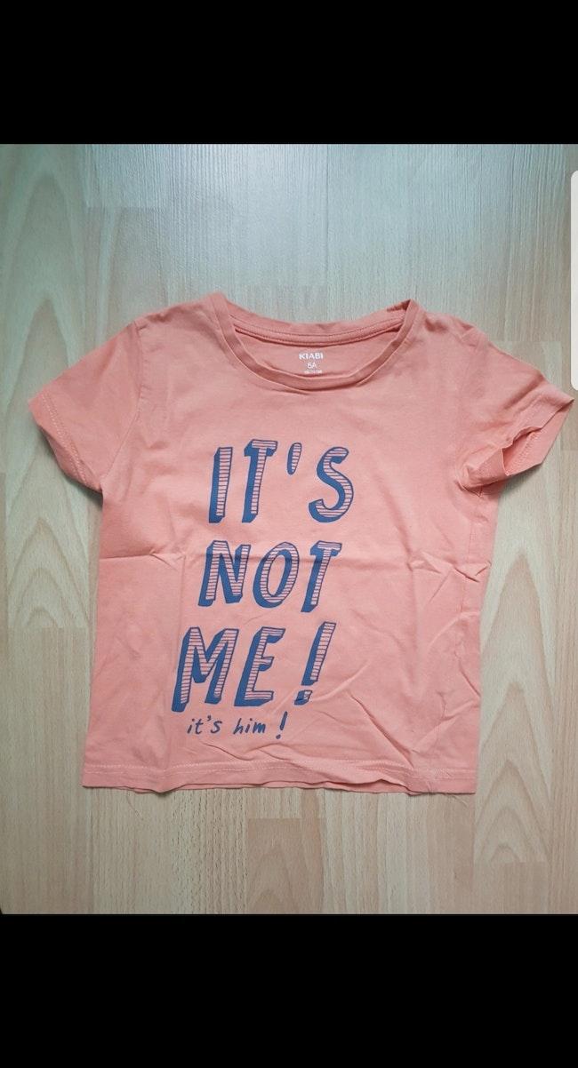 Tee-shirt MC enfant garçon 5 ans