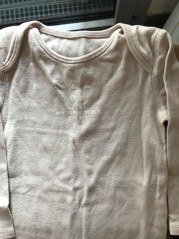 Pyjama une pièce Burberry 12 mois